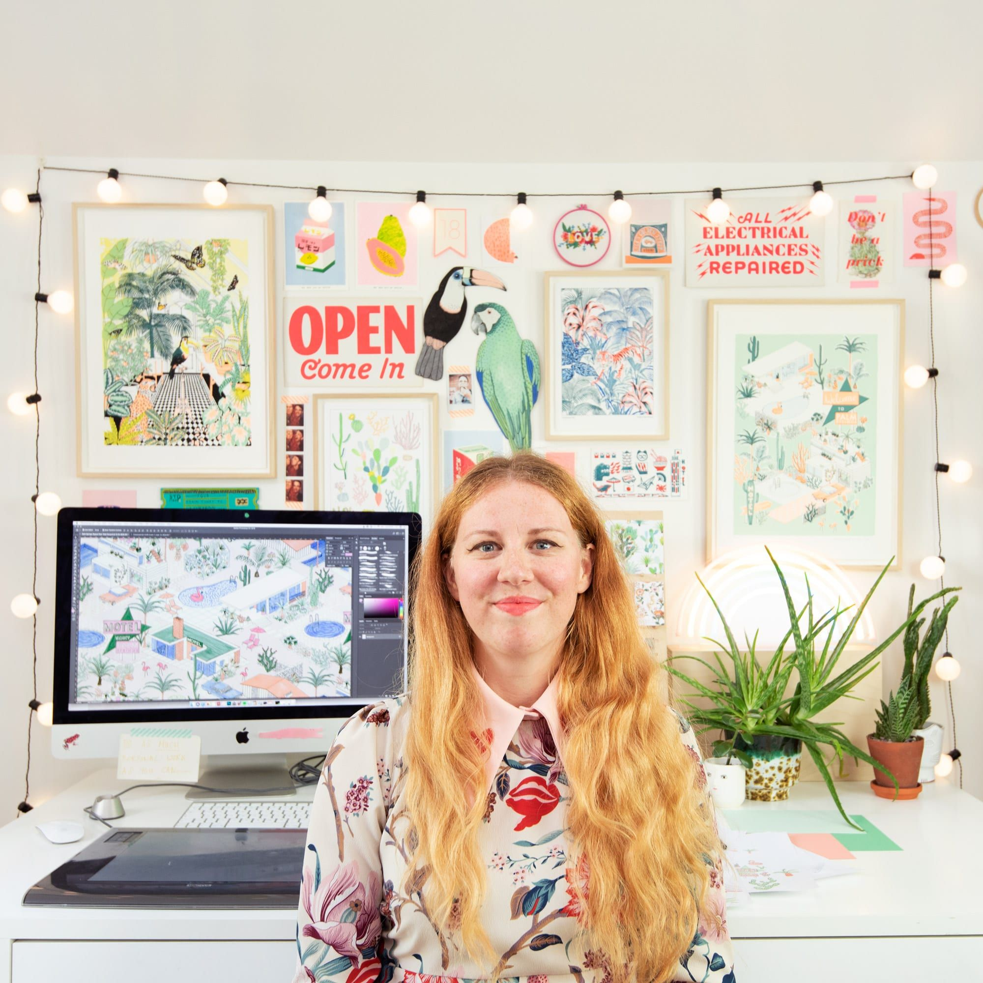 Designing Custom Packing Tape with Jacqueline Colley