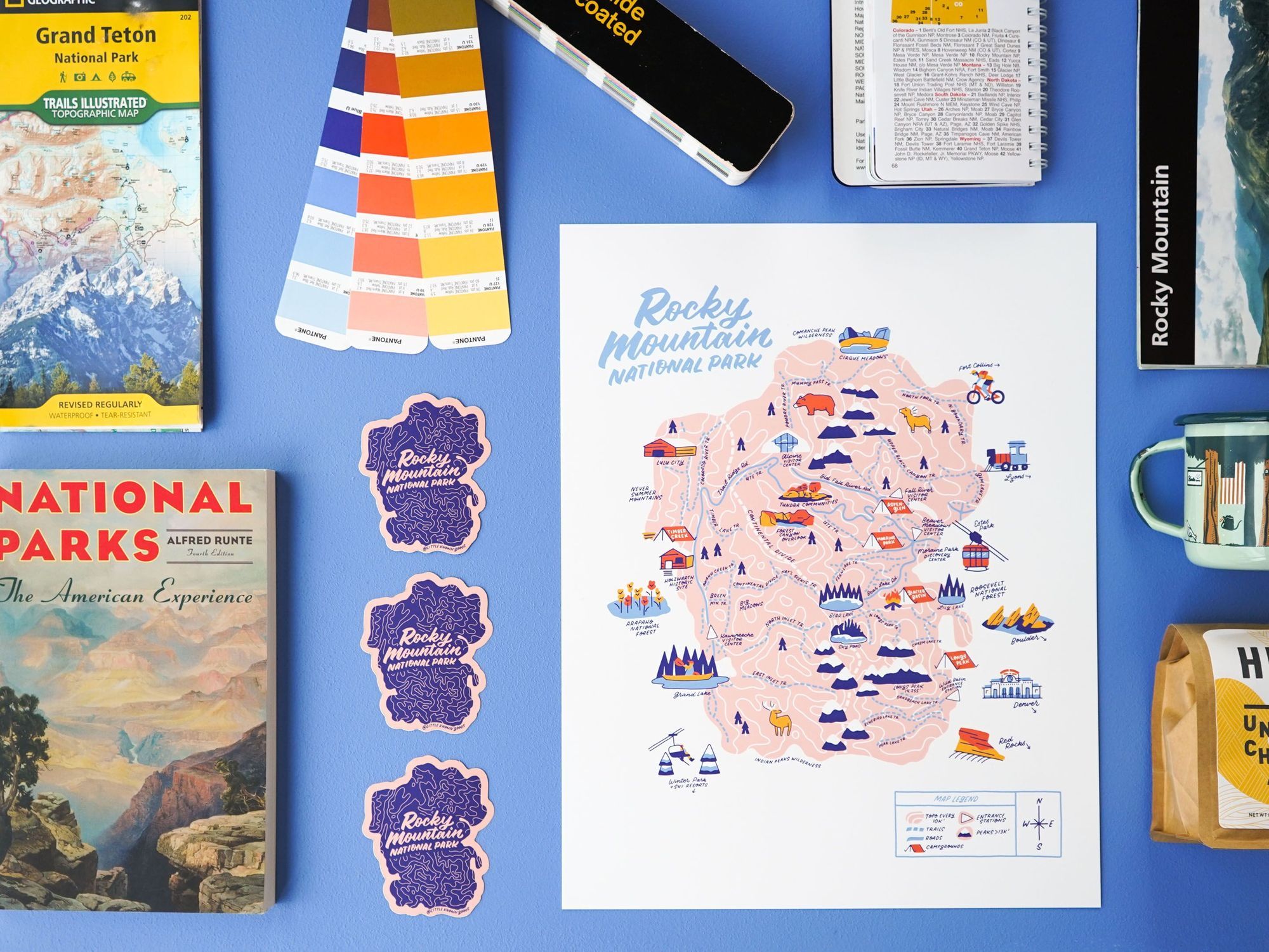 Happy Travels and Fun Prints with Little Known Goods