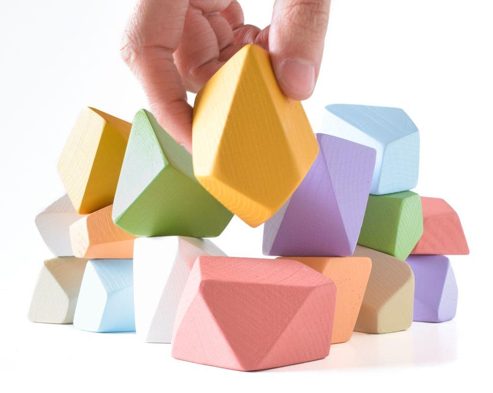 Eco-friendly Stackable Blocks with Rock Block Shop