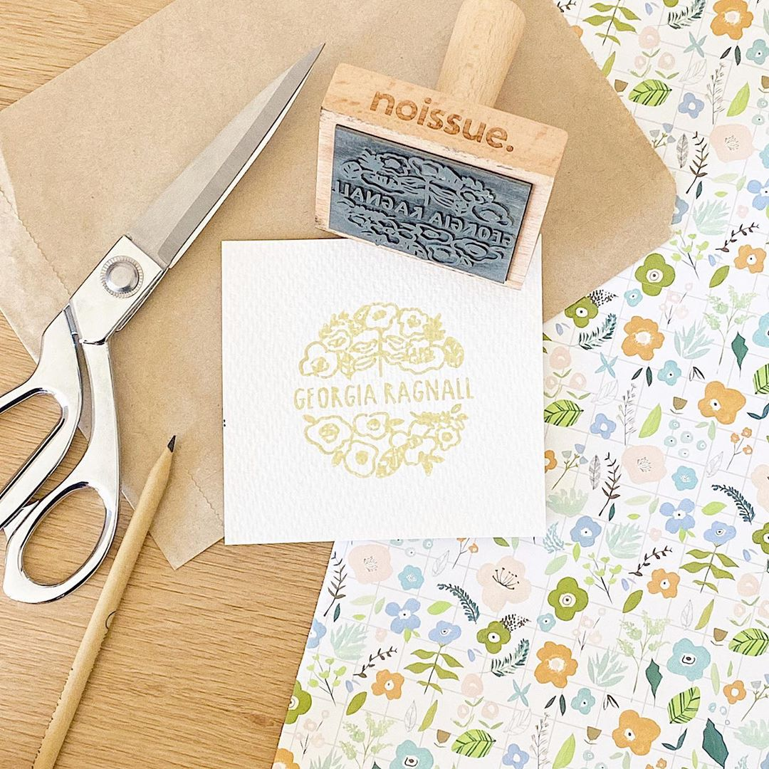 Creative ways to use a Stamp to brand your packaging