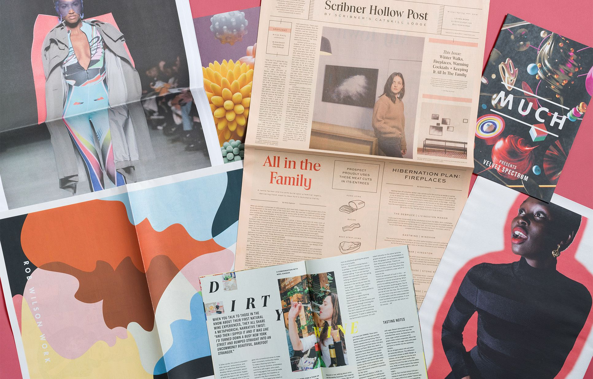 How seven clever creatives are ditching digital to get seen in print