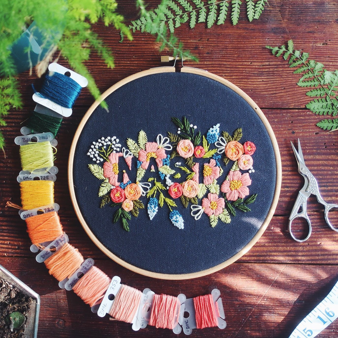 Sassy Embroidered Goods with The Idle Hands Club