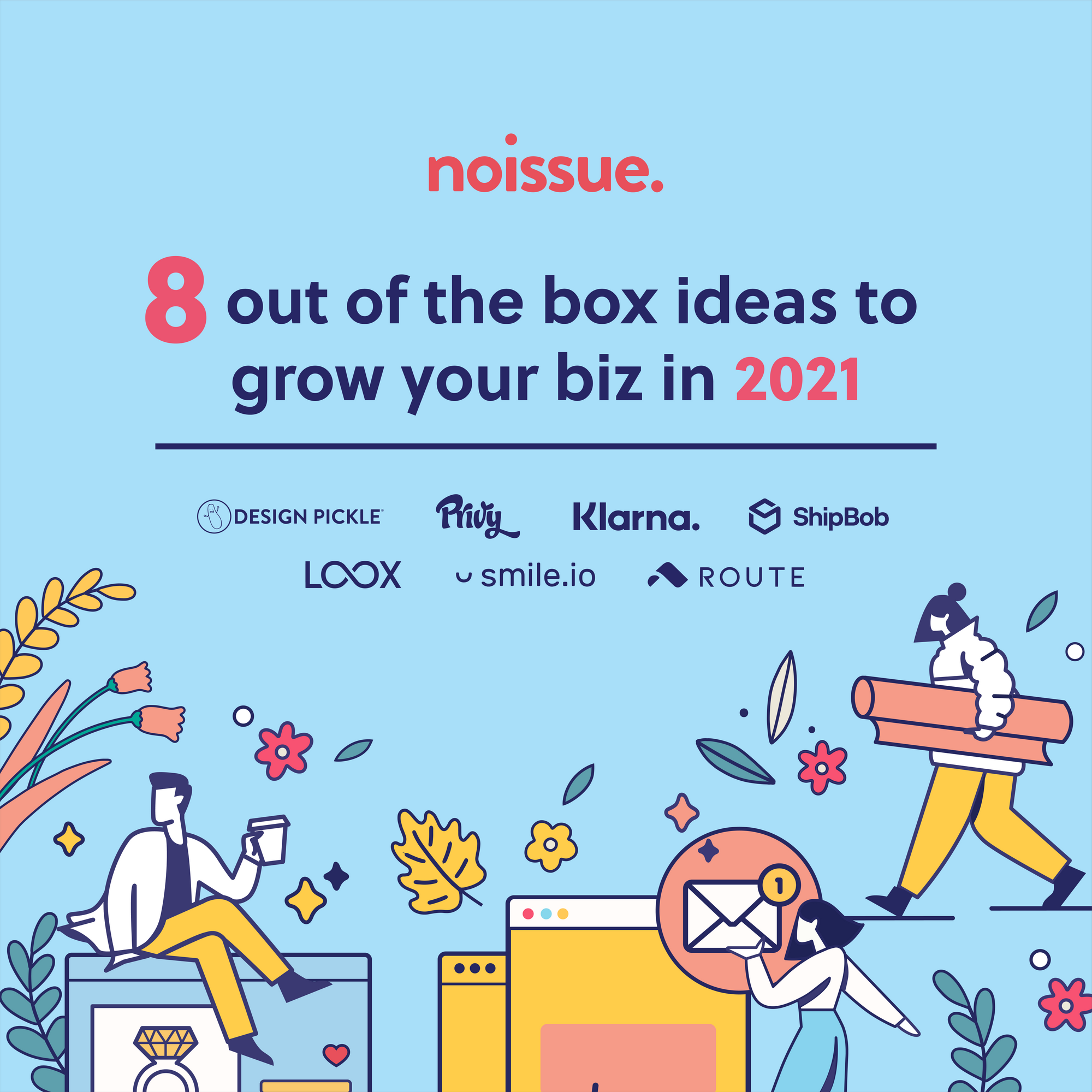 8 Out of the Box Ideas to Grow Your Biz in 2021