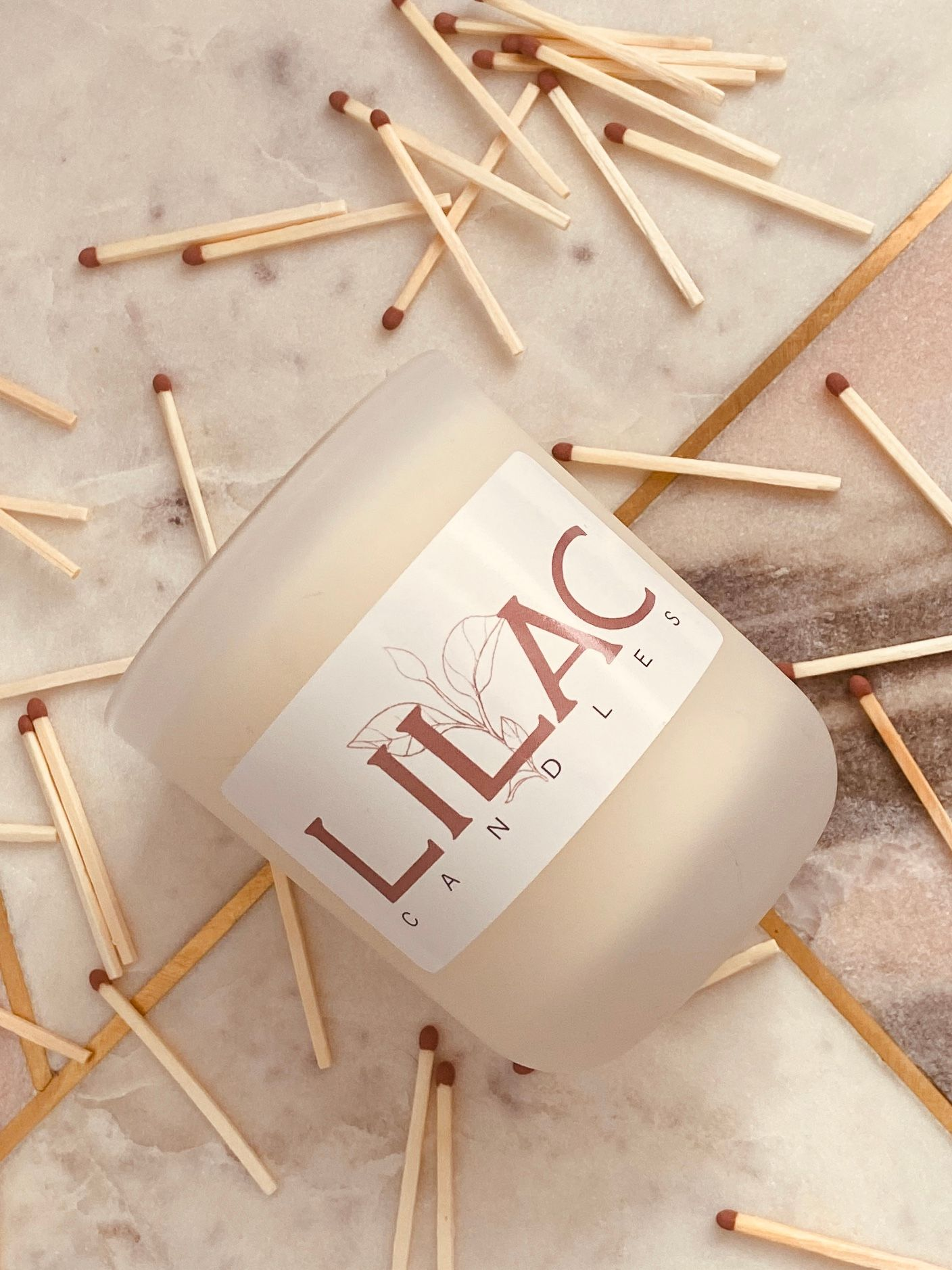 Lilac Candles: Cruelty-Free, Eco-Friendly