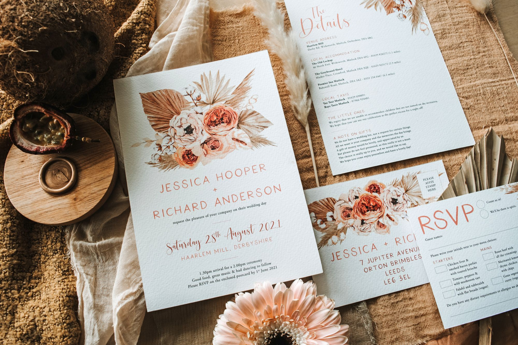 Botanical Designs meet Bespoke Romance with Design By Emily