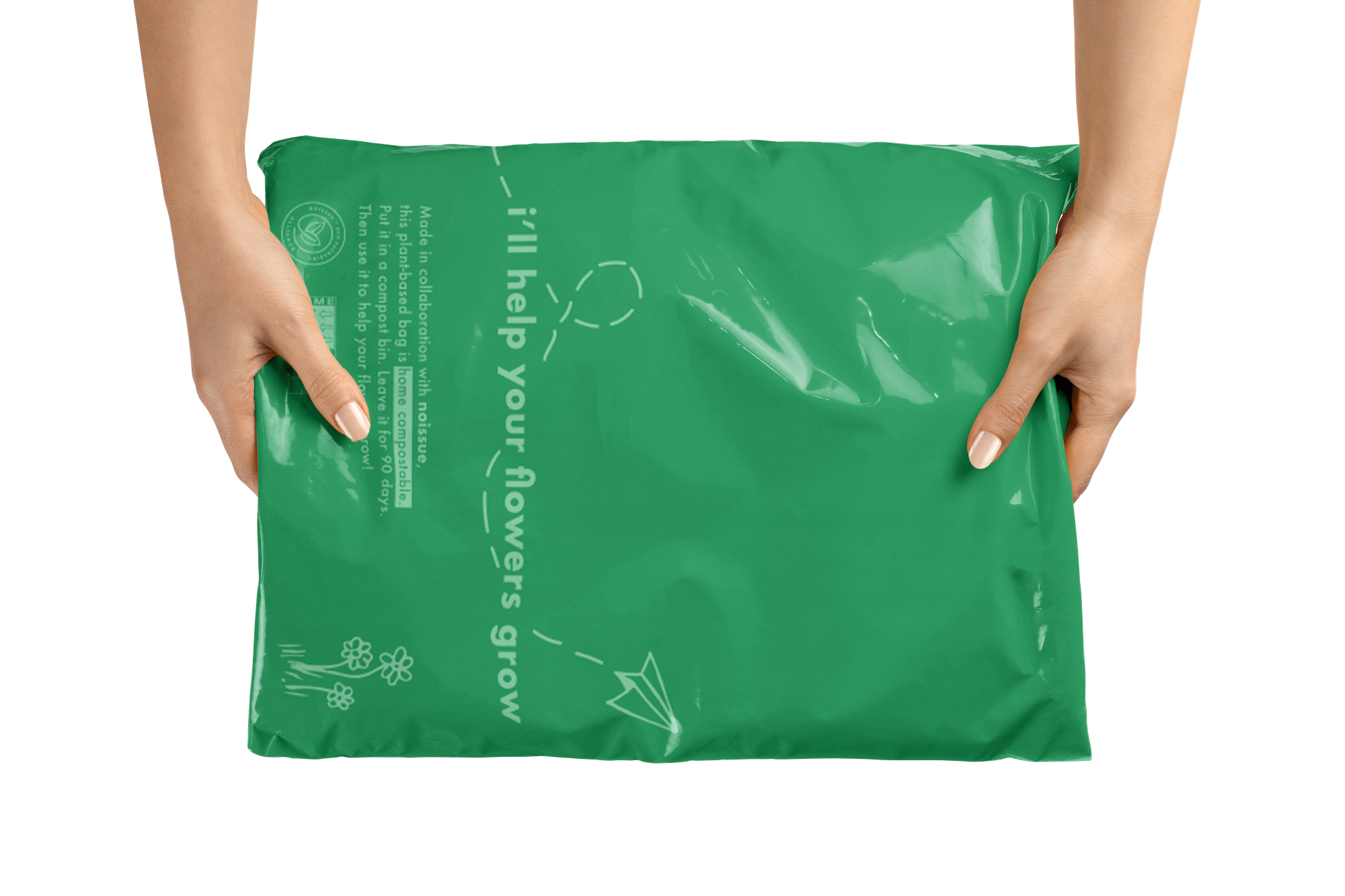 Compostable Mailer Bag by Swoondle Society