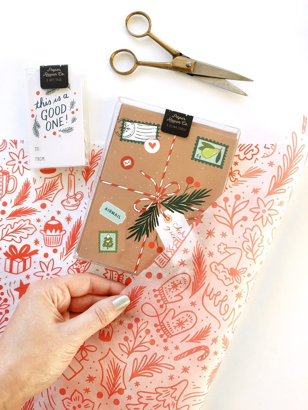 Paper Raven Co: Holiday Packaging with Green Credentials