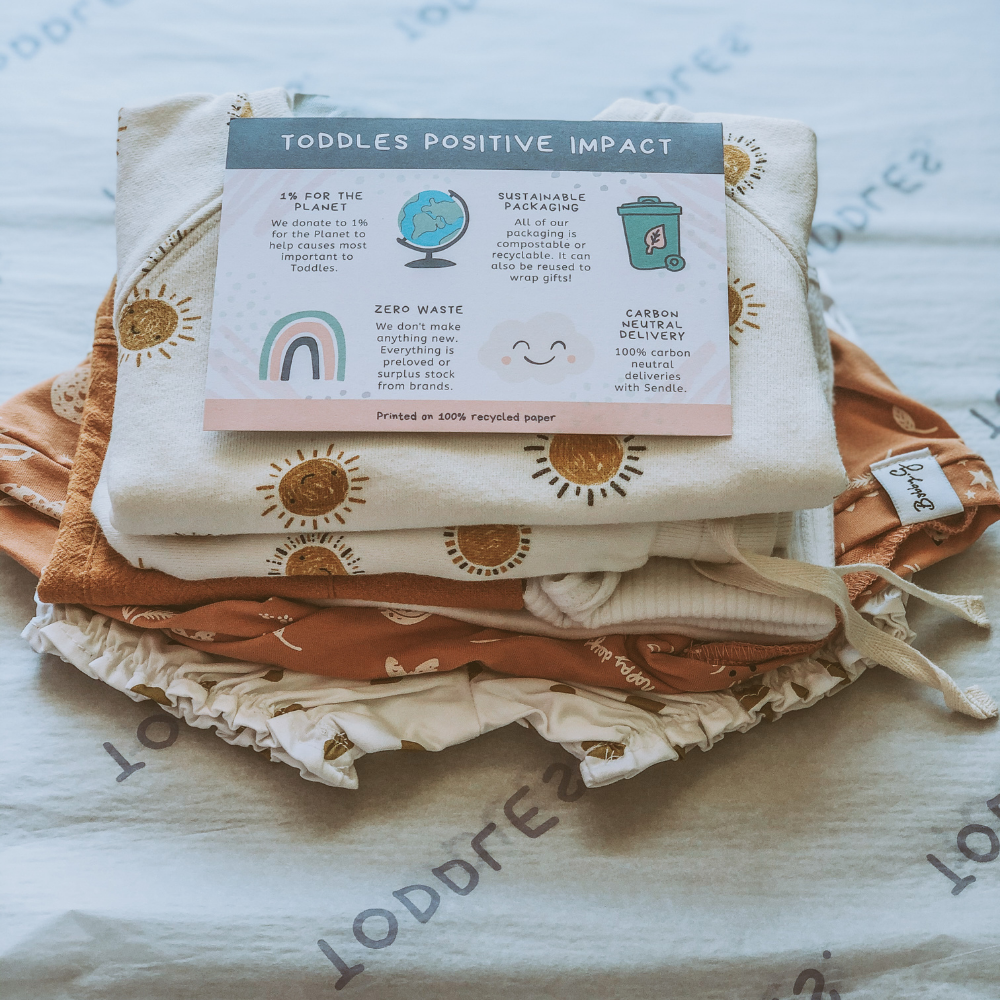 Toddles: Saving the Planet with Sustainable Baby Clothing