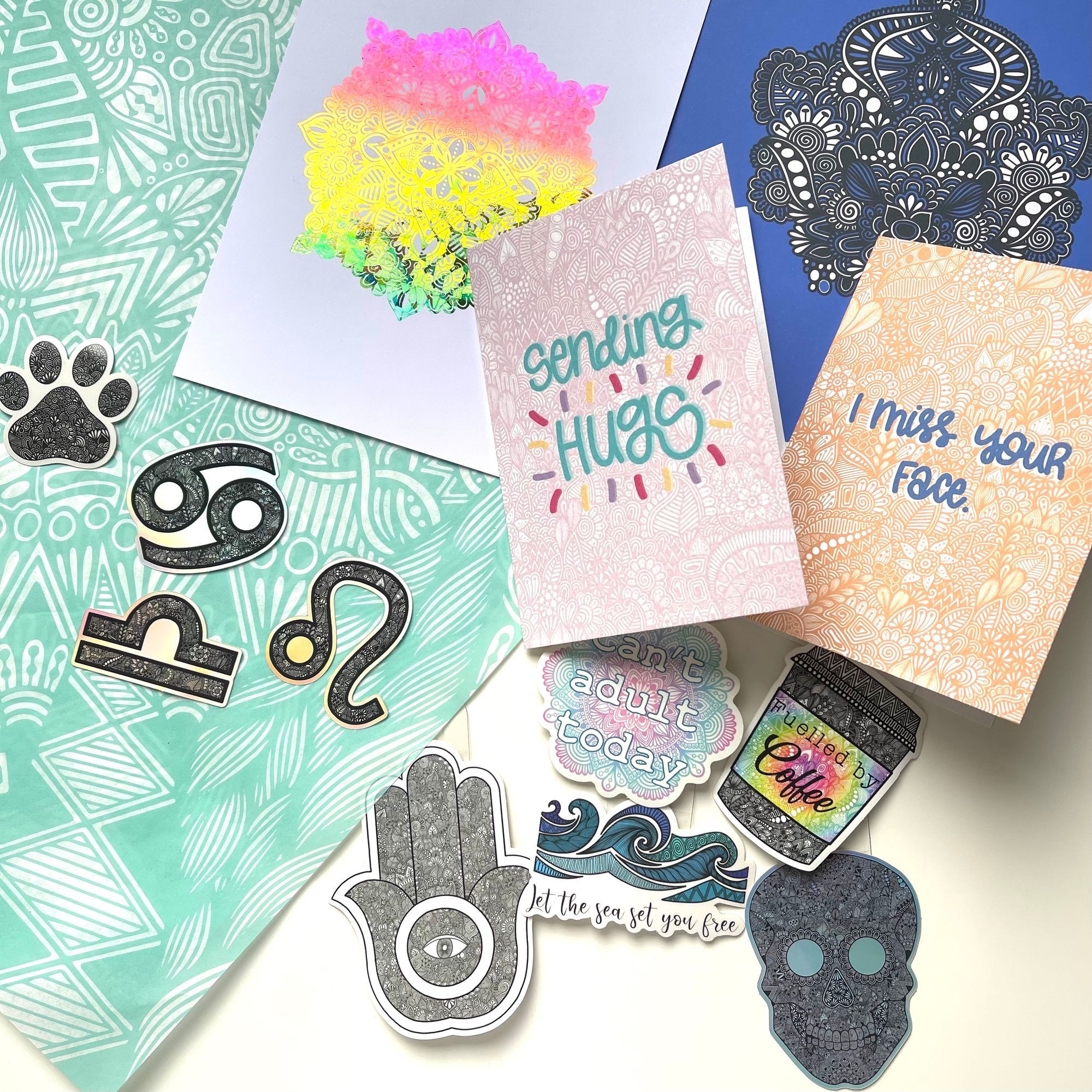 DrawInk Designs: Magnifying Joy with Patterns and Doodles