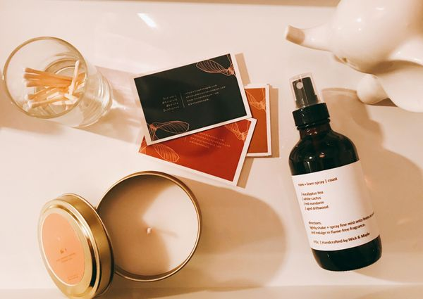 Wick and Maple: Sustainable Handcrafted Candles