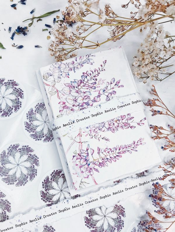 Dainty Paper Goods Handmade with Love by Sophie Amelia