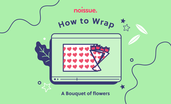 How to Wrap: A Bouquet of Flowers