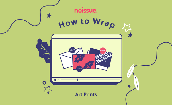How to Wrap: Art Prints (or Anything Flat and Rectangular)